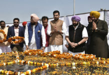 PUNJAB GOVT. PAYING RICH TRIBUTES