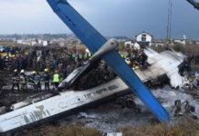 Plane crash at Nepal