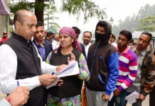 CHIEF MINISTER SHRI JAI RAM THAKUR LISTENING TO PUBLIC GRIEVANCES