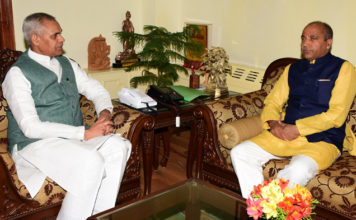 CM DISCUSSES DEVELOPMENTAL ISSUES WITH GOVERNOR