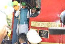 Shimla-Kalka railway track