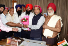 A delegation of HRTC State Drivers Union calls on Chief Minister