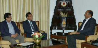 Ambassadors of India to Norway and Syria calls on Chief Minister