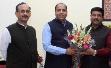 CM calls on Union Petroleum Minister