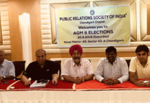 Harjeet Singh Grewal reelected as chairman PRSI Chandigarh Chapter