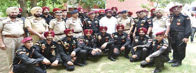 PUNJAB CM HAILS NEWLY-TRAINED SOG COMMANDOS AS CRITICAL FOR COUNTERING NON-CONVENTIONAL TERROR