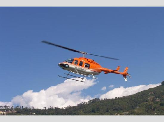 Helicopter service started for Kedarnath Dham