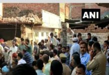 12 people dead in house collapse following cylinder blast