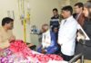 Governor visits Tanda medical college, enquires well being of Forest Minister
