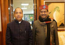 Chief Minister Jai Ram Thakur called on Lok Sabha Speaker Om Birla