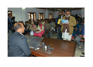 Government committed for earlier rehabilitation of Pong Dam oustees CM