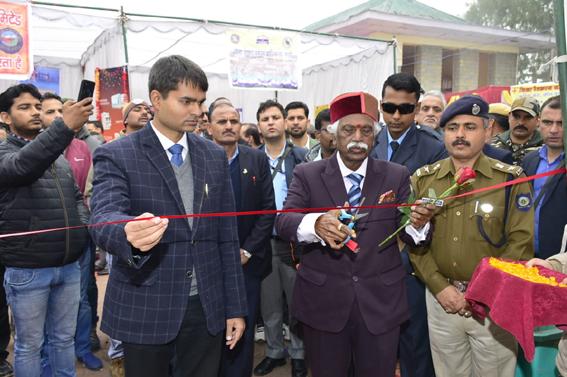 Governor inaugurates Red Cross fair in Sundernagar