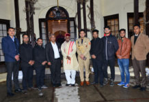Himachal Governor visits the Retreat building