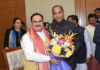 CM congratulates Jagat Prakash Nadda on becoming National President of BJP