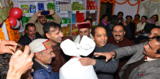 CM launches Ration Card Portability and Fortified Wheat Flour Scheme