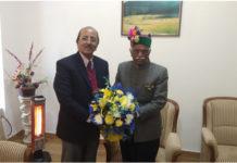 Director PGI Chandigarh calls on Governor