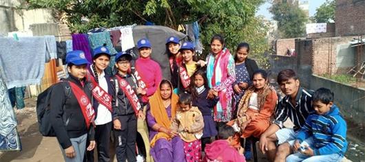Moti Ram Arya School Chandigarh organised NSS Camp