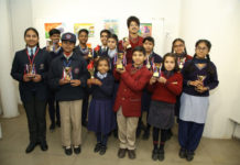 Painting Exhibition organised by SBI, & LIC of India Kick Starts