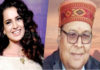 Prof. Abhiraj Rajendra Mishra and Kangana Ranaut for being selected for Padamshree Award