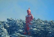 Shimla receives first heavy snow of season