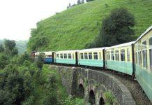 117-Year-Old Steam Engine On Kalka Heritage Line