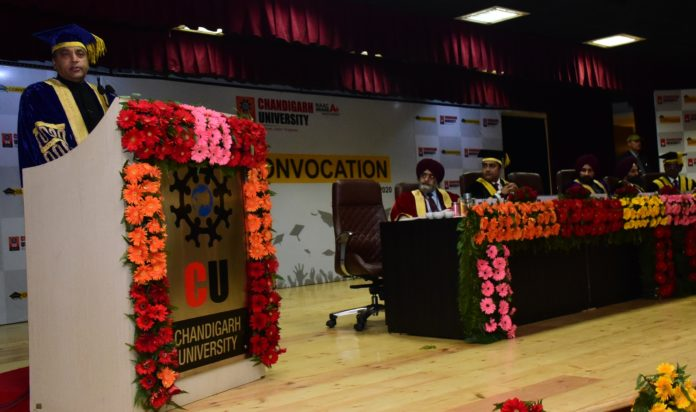 CM Jai Ram Thakur attends convocation function of Chandigarh University