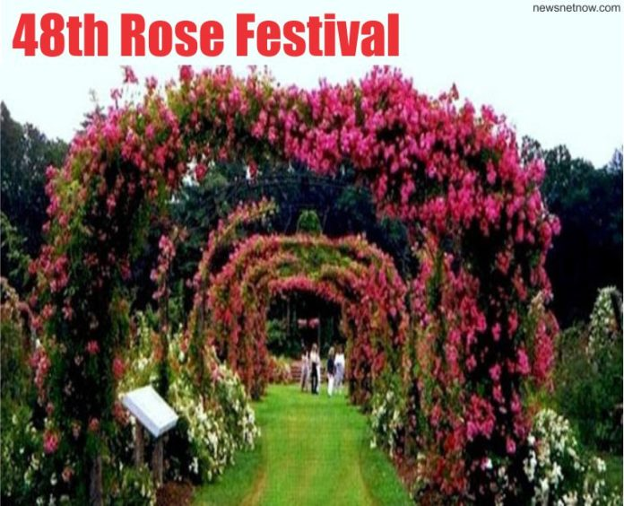 48th Rose Festival Starts Today for Three Days