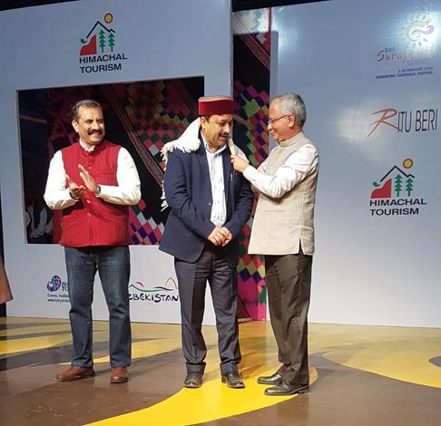 Fashion Show on Unforgettable Himachal Theme in Surajkund Craft Fair