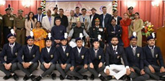 Haryana Governor asks Youngsters to get NCC Training