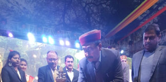 Health Minister inaugurates cultural evening of Surajkund Crafts Mela