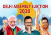 Voting for the Assembly Election in Delhi is underway