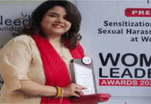Chandigarh-based social activist gets women leadership award