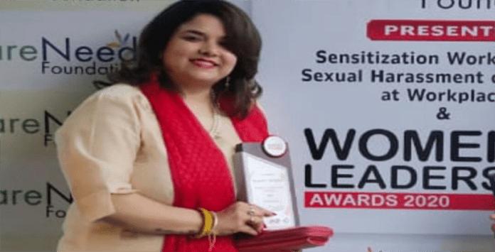 Chandigarh-based social activist gets women leadership award