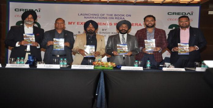 Member RERA Punjab Jagdish Khushdil's book 'MyExperiment With RERA