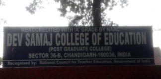 Dev Samaj College of Education