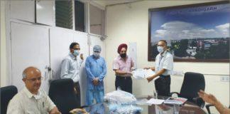 Merchant Navy Officers' Association donates PPE kits