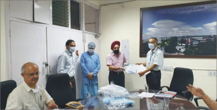 Merchant Navy Officers' Association donates PPE kits