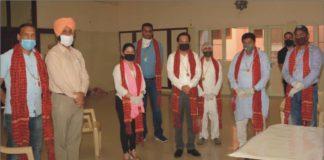Sh. Gian Chand Gupta respected the Corona warriors of Akhil Bhartiya Agrawal Sammelan