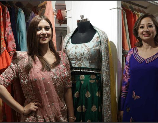 Designer Rupam Grewal showcases Jaamawar Minx's Festive Collections