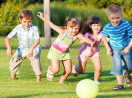 Games to play outside with Kids