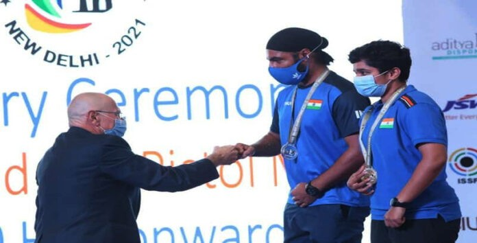 Gurpreet Singh LPU Student won Medal