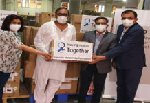 Puneet Anand, AVP & Group Head – Corporate Affairs of Hyundai Motor India Foundation handed over 40 units of HFNO machines to Dr. Pankaj Poonia, Manager- Gurugram Regional Drug Warehouse, Haryana Government on Tuesday.