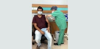 Vaccination at Max Hospital