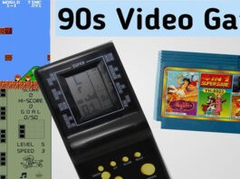 Video game consoles from 90s